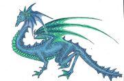 Aquatic dragon by tru wulf-d4ifyag