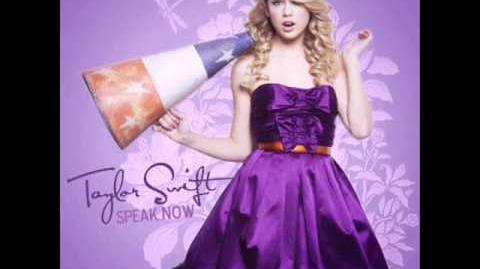"""Taylor Swift- """"Speak Now"""""""