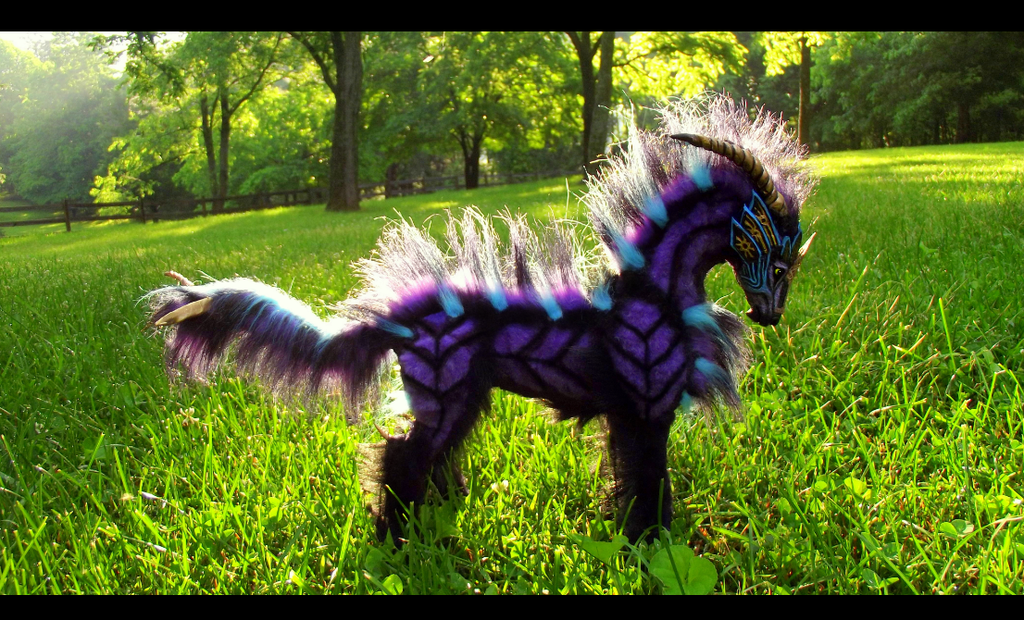 Image Sold Poseable Fantasy Galaxy Horse By Wood Splitter Lee