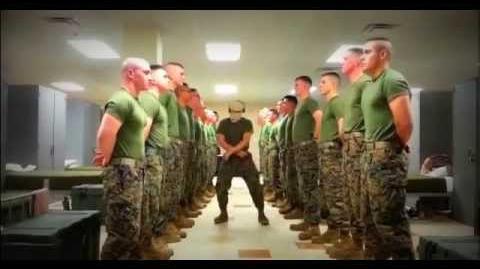 Harlem Shake Marine Style