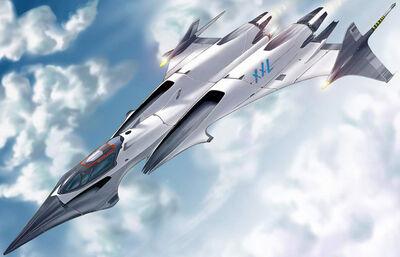 Future plane concept ship