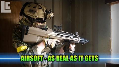 Airsoft - Integrity Tactical Solutions Extreme Realism! (Airsoft F2000 Gameplay Commentary)