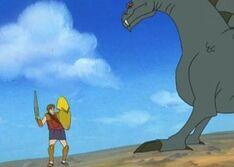Bellerophon and Pegasus 4