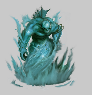Water elemental by worldsofmagic-d6l9k61
