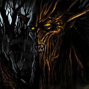 Evil tree by antonrosovsky-d4tp54l