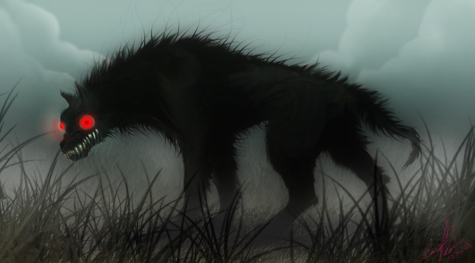 Картинки по запросу черный пес призрак