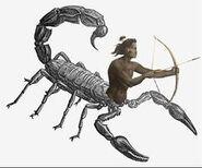 Человек-скорпион3