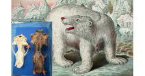 Гигантский белый медведь Аляски2