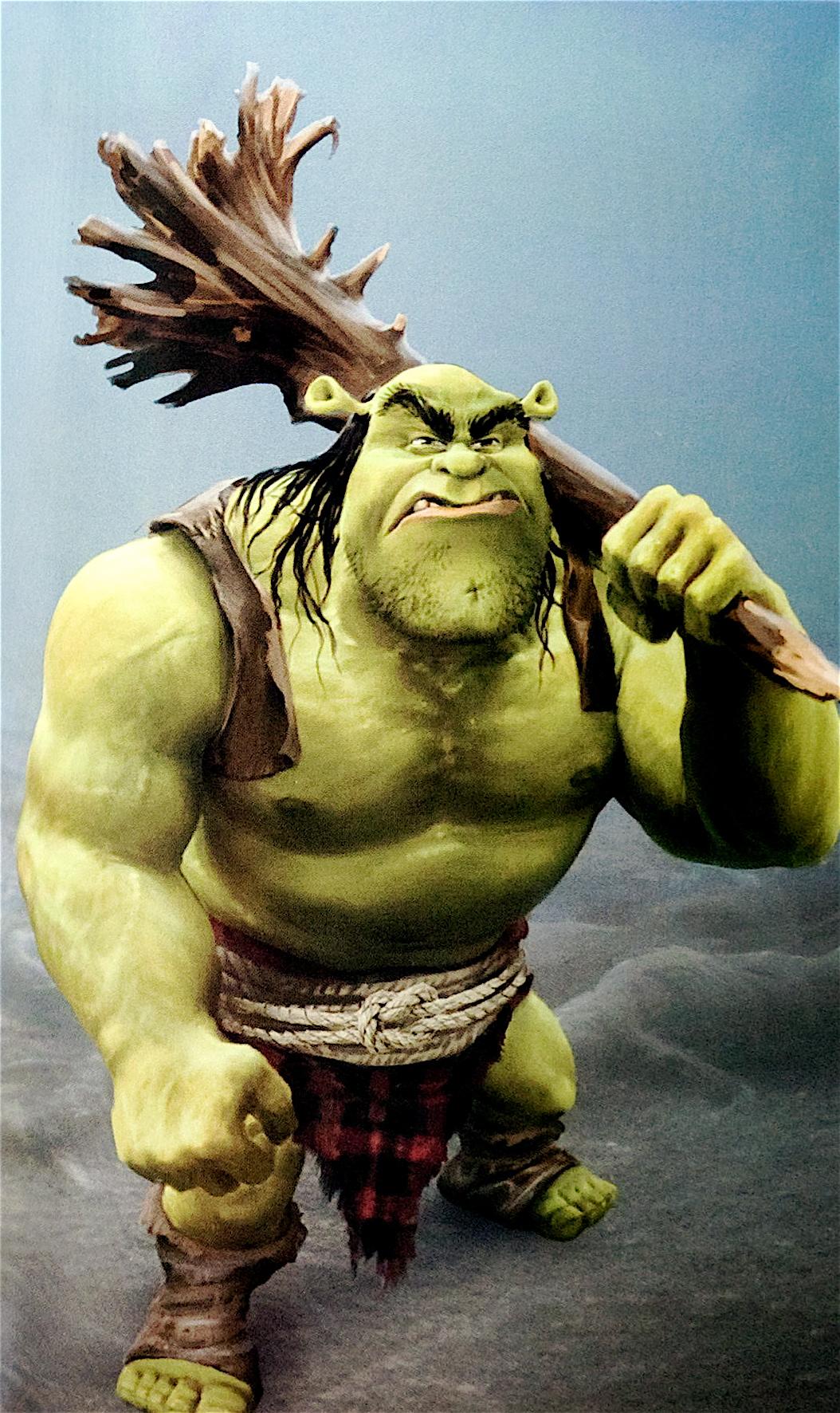 how to make shrek ogre ears