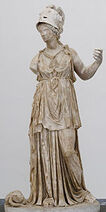Minerve-statue