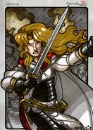Legends iea Iðunn battle warrior