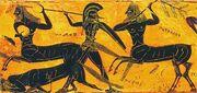 Theseus centaurs