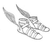 Hermes' Sandals