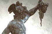 Perseus after slaying Medusa