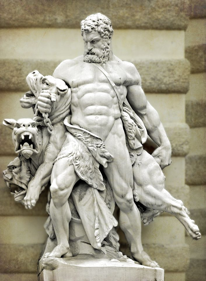 Greek God Cerberus