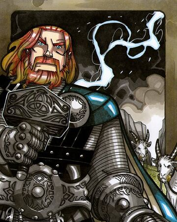 Thor Mythology Wiki Fandom Powered By Wikia