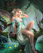 Diamond Painting of Fairy