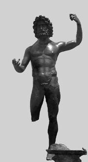 Jupiter bronze Luxembourg MNHA