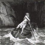 Charon, the Ferryman by Gustave Dore