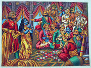 220px-Draupadi s presented to a parcheesi game