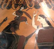 Amphora birth Athena Louvre F32