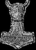 Mjolnir pendant