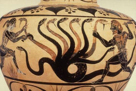 The hydra has alternating numbers of heads