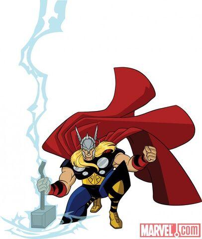 File:Thor in Avengers - Earth Mightiest Heroes.jpg