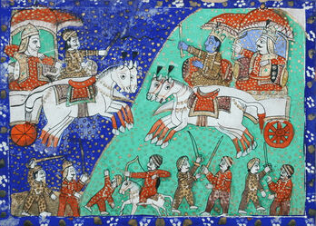 The Battle of Kurukshetra