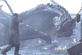 Dragon in Reign of Fire
