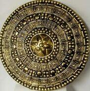 Gold rome shield