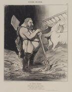 Brooklyn Museum - Les Écuries d'Augias - Honoré Daumier