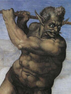 Charon by Michelangelo