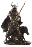 Freyr figurine