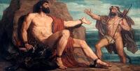 Prometheus and Hercules