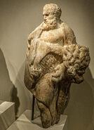 Hercules Roman 1st century BCE - 1st century CE Walters Art Museum