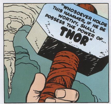 File:Mjolnir in comics.jpg