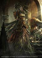 Vraska-Regal-Gorgon-Guilds-of-Ravnica-MtG-Art
