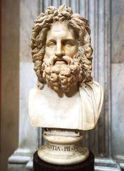 Jupiter statue, Vaticana
