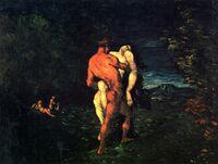 L'Enlèvement, par Paul Cézanne