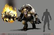Hades Minotaur in God of War II