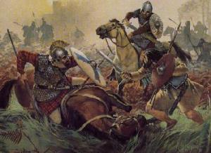 a comparison between greek and anglo saxon heroes Beowulf christianity essay beowulf's character exemplifies the germanic and the anglo-saxon ideals of the hero: strong comparison of the greek religion in.