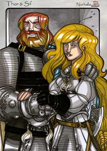 Legends iea Thor and Sif