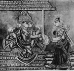 213px-Lord Brahma and Adhiti - 19th Century Illustration