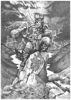 Thor by Abrar Ajmal