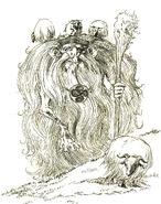 Basque mitology basajaun by mrkamehameha