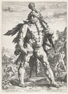 Hendrik Goltzius - De reus Hercules