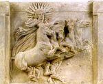 Helios Temple of Athena at Troy Belin, Pergamon Museum 280-300 BC