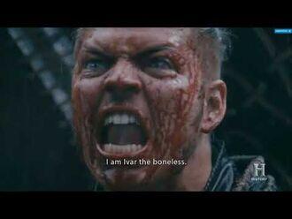 """VIKINGS S05E03 - Ivar scene """" You Can't Kill me, i am Ivar The Boneless """""""