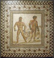 559px-Mosaic boxers Getty Villa 71.AH.106